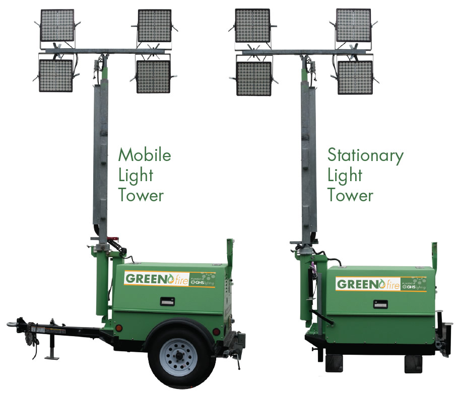 Greenfire LED Light Towers